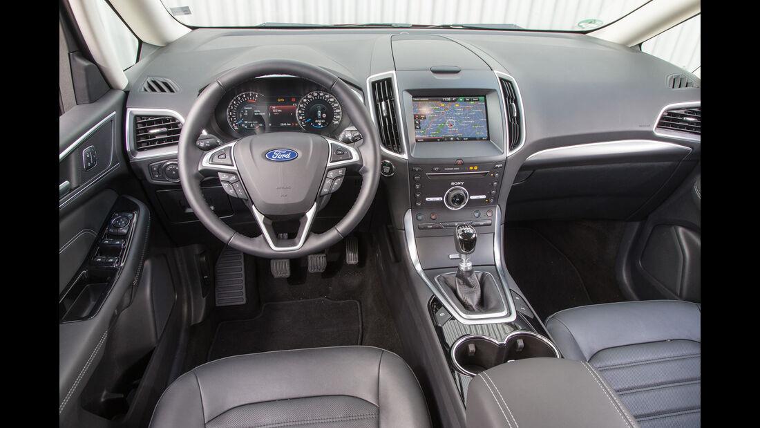 Ford Galaxy 1.5 Ecoboost, Cockpit