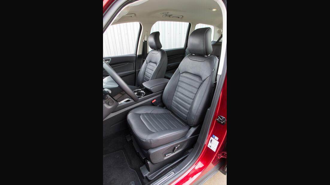 Ford Galaxy 1.5 Ecoboost, Fahrersitz