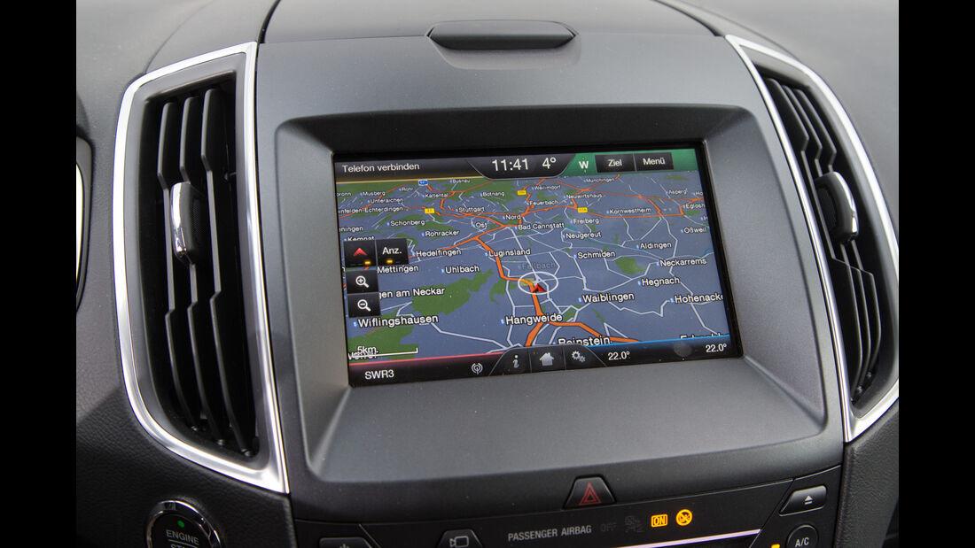 Ford Galaxy 1.5 Ecoboost, Navi, Monitor