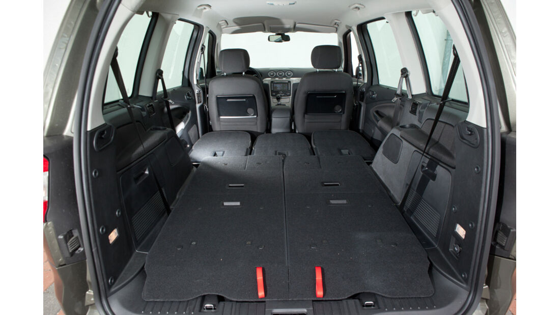 Ford Galaxy 1.6 TDCi Trend, Kofferraum