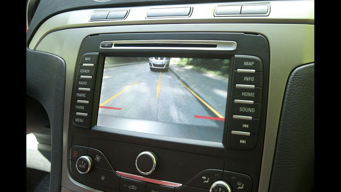 Ford Galaxy 1.6 TDCi Trend, Mittelkonsole