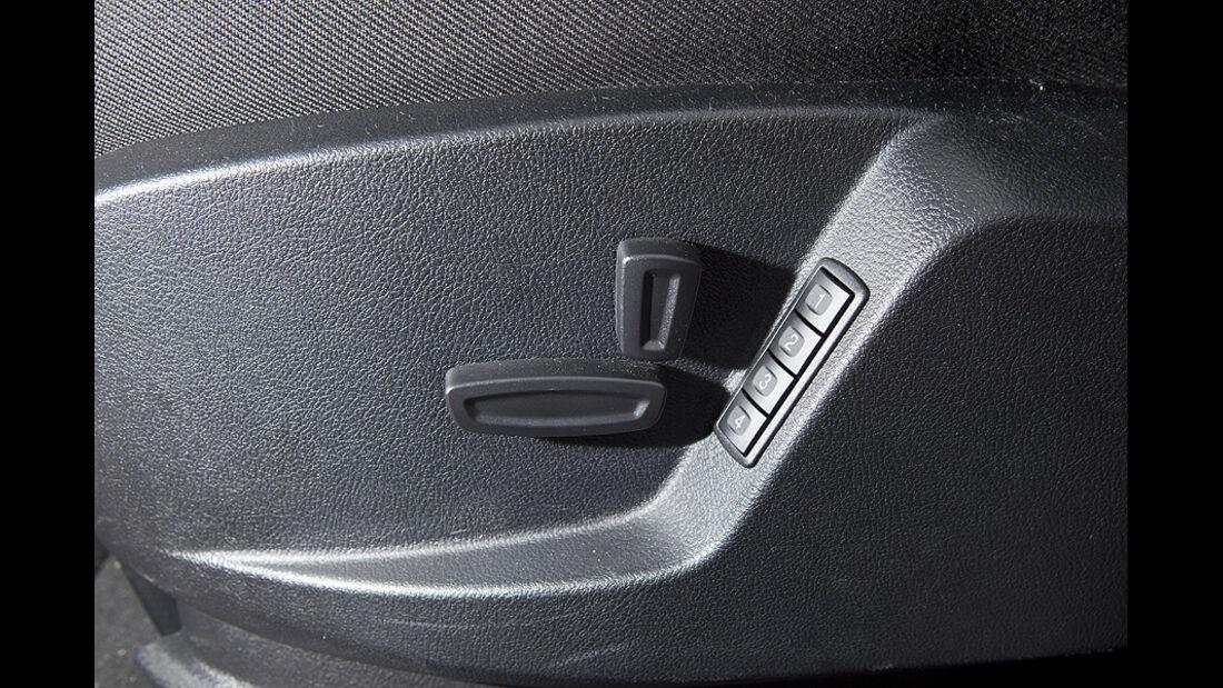 Ford Galaxy 1.6 TDCi Trend, Sitzverstellung