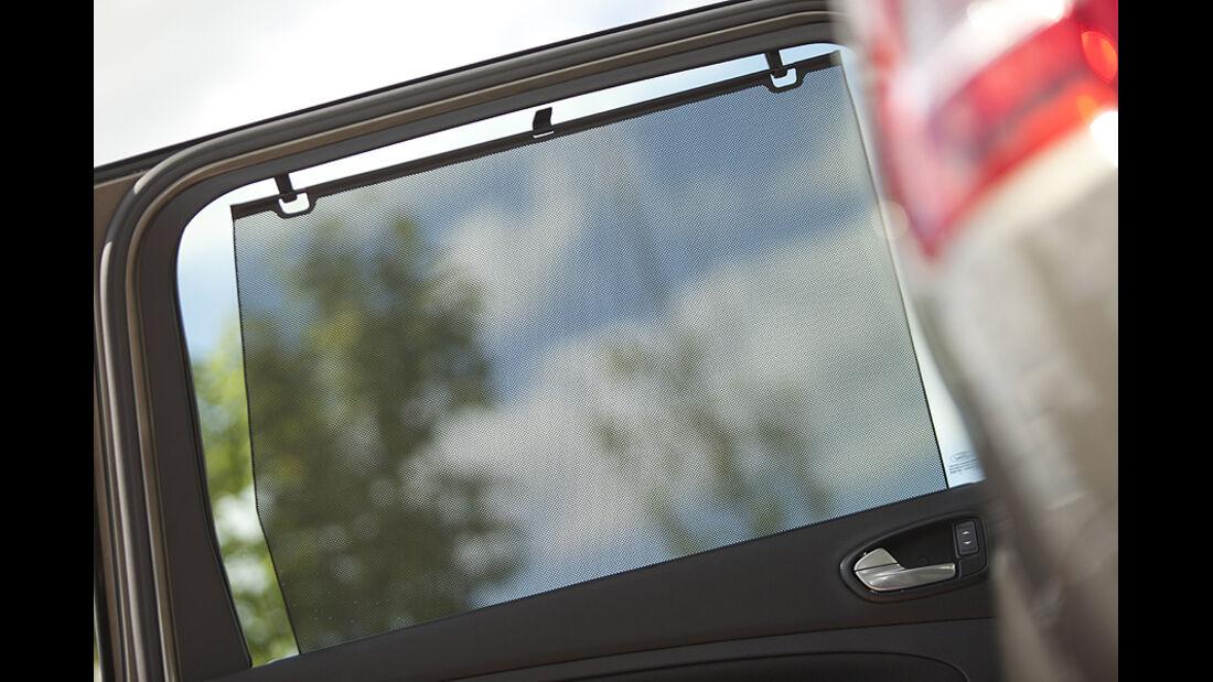 Ford Galaxy 1.6 TDCi Trend, Sonnenschutz