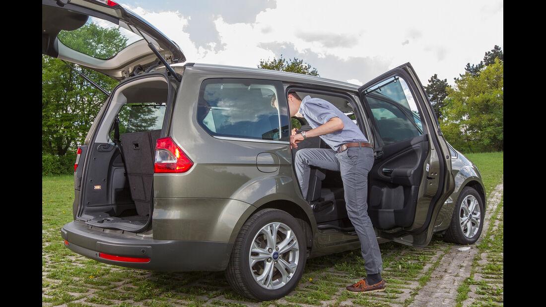 Ford Galaxy 2.0, Seitentür, Einstieg