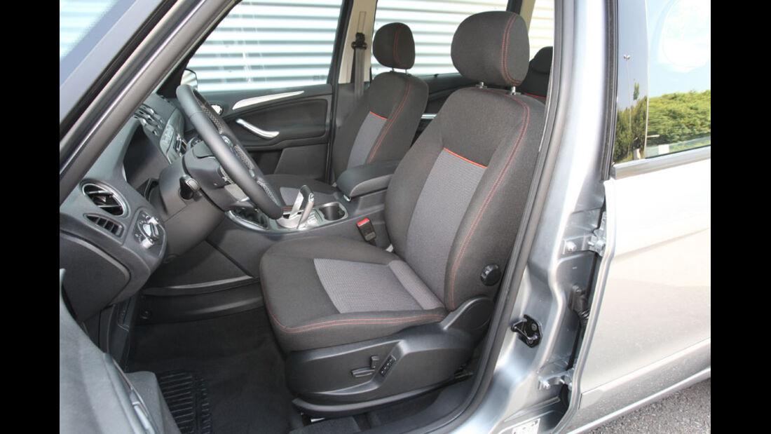Ford Galaxy 2.0 TDCi, Fahrersitz