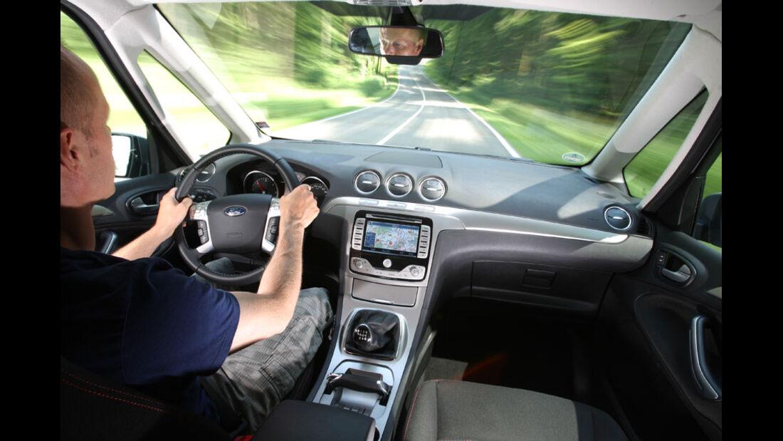 Ford Galaxy 2.0 TDCi, Innenraum