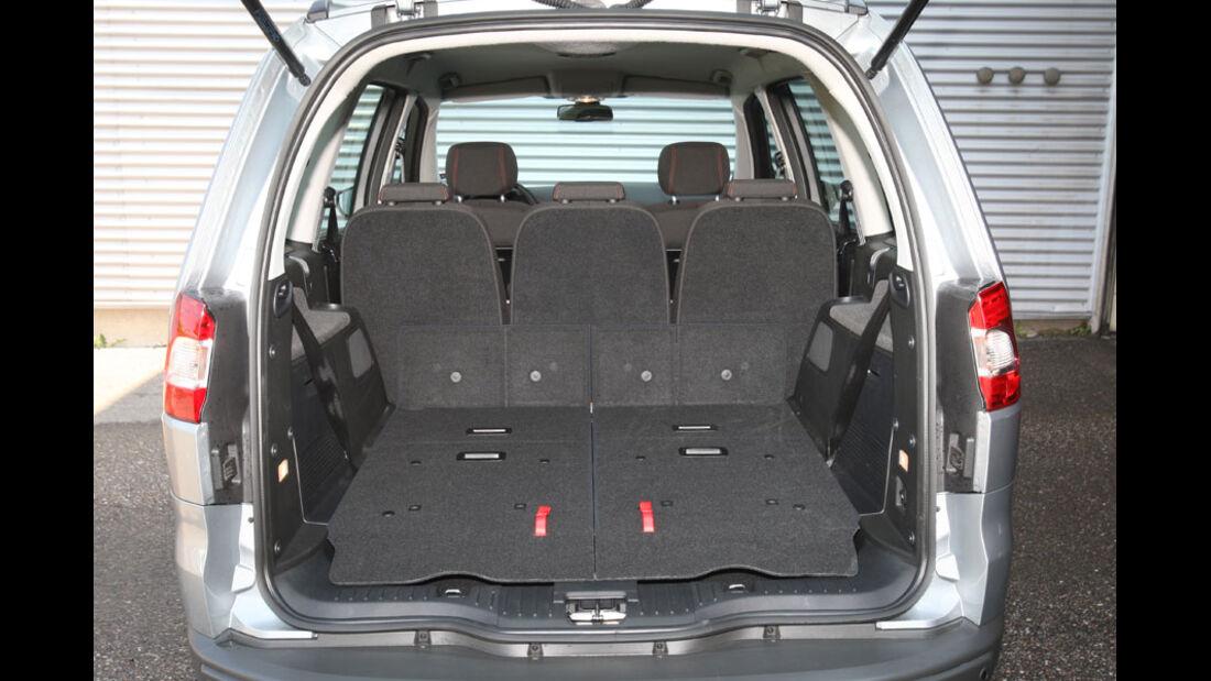 Ford Galaxy 2.0 TDCi, Kofferraum