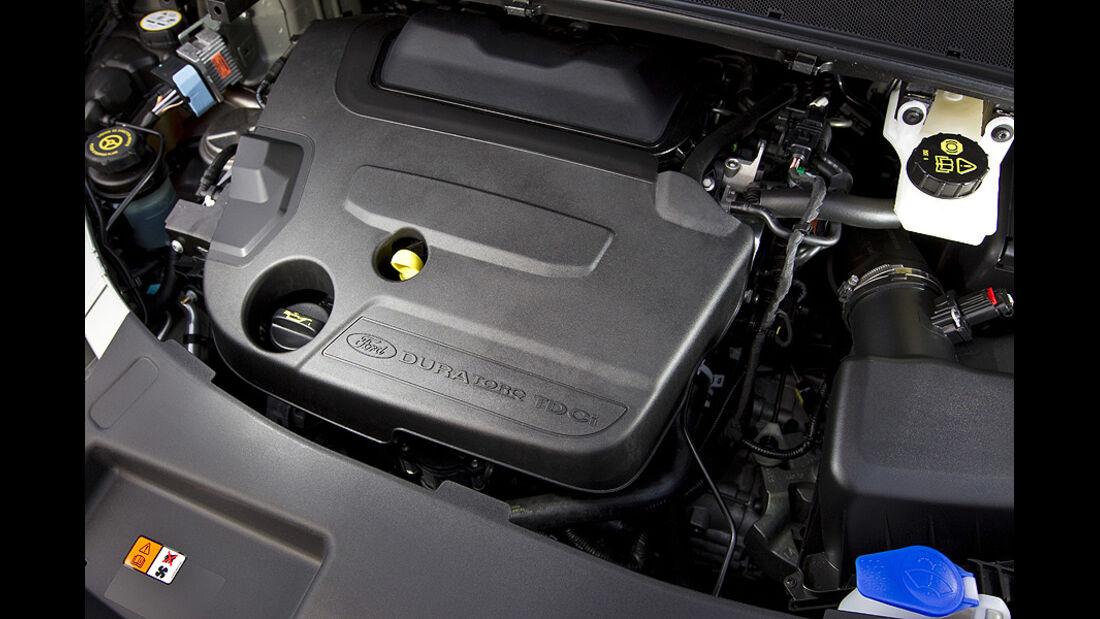 Ford Galaxy 2.0 TDCi Motorraum