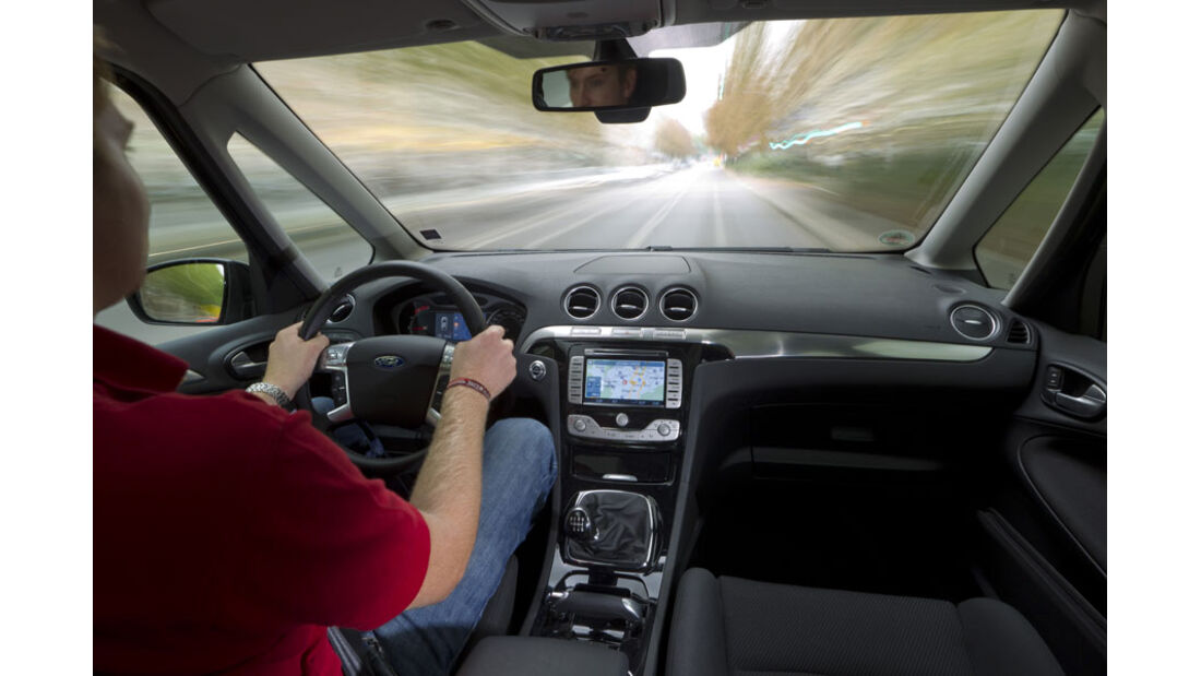 Ford Galaxy, Cockpit, Innenraum