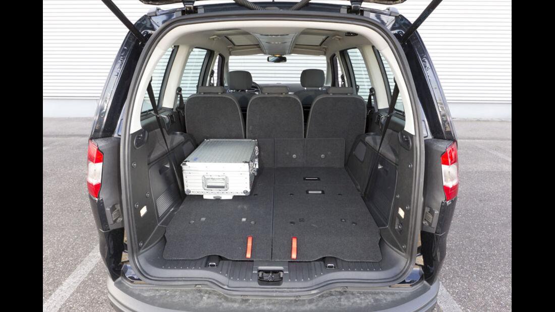 Ford Galaxy, Kofferraum