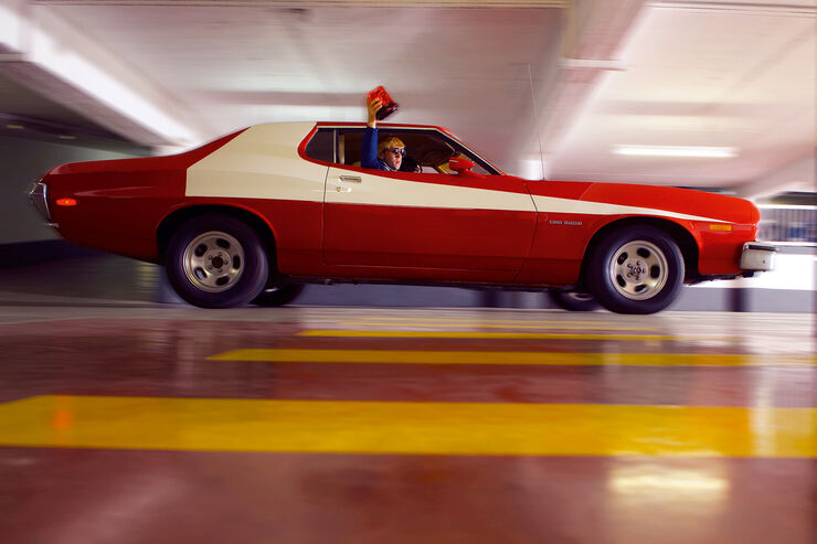 Ford Gran Torino, Frontansicht