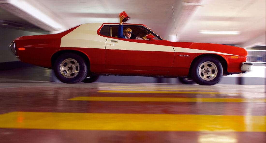 Ford Gran Torino, Frontansicht