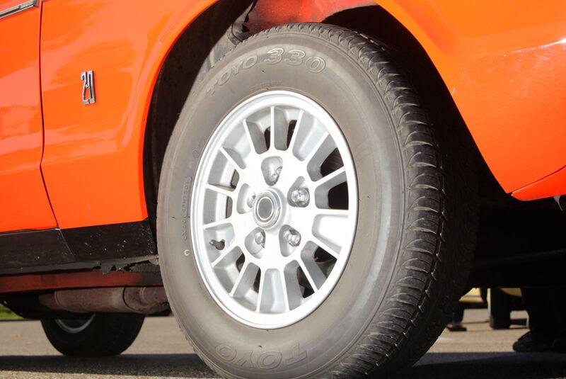 Ford Granada 2.0L V6, Rad, Felge