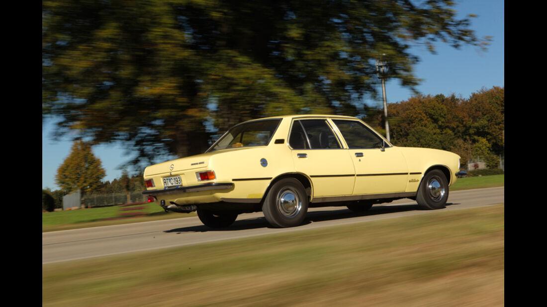 Ford Granada 2.0L V6, Seitenansicht