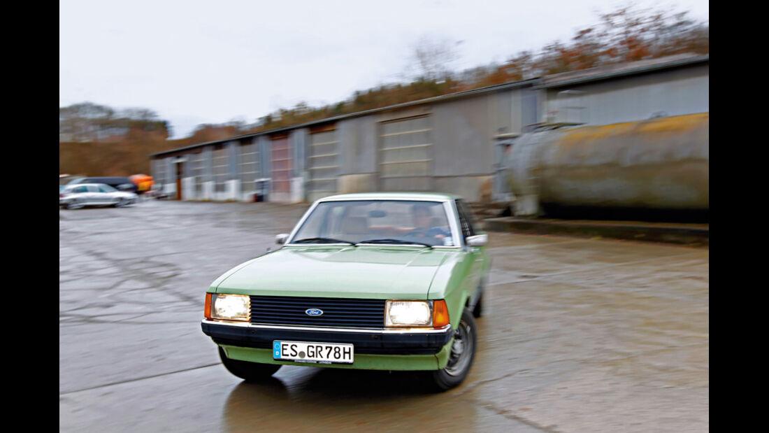 Ford Granada 2.3 L, Frontansicht
