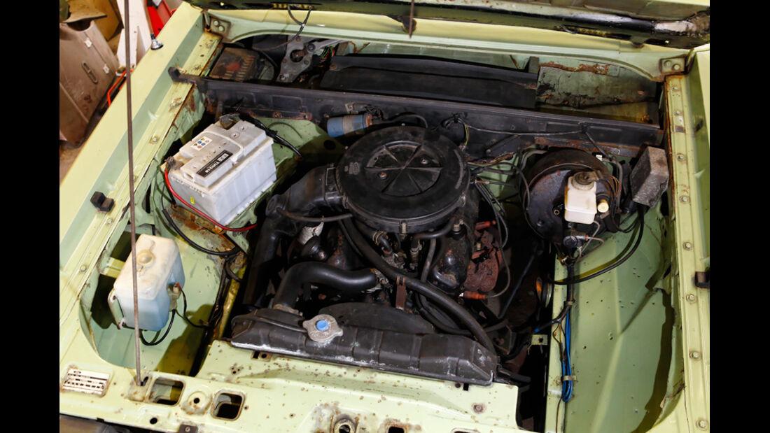 Ford Granada 2.3 L, Motorraum