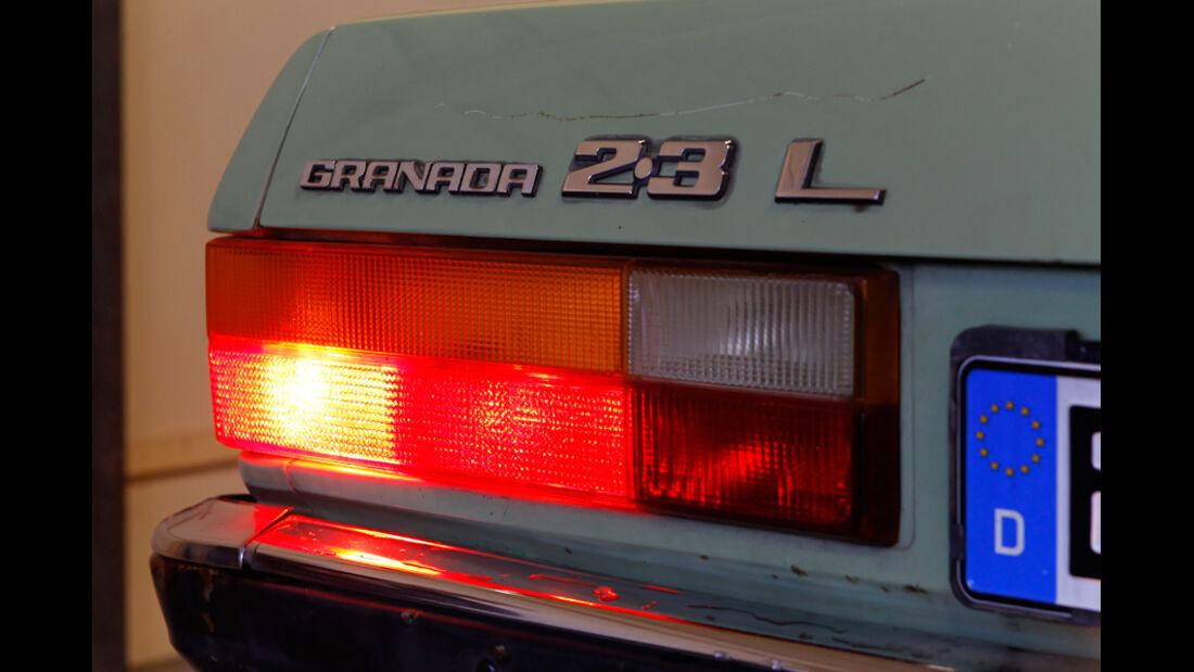 Ford Granada 2.3 L, Rücklichter