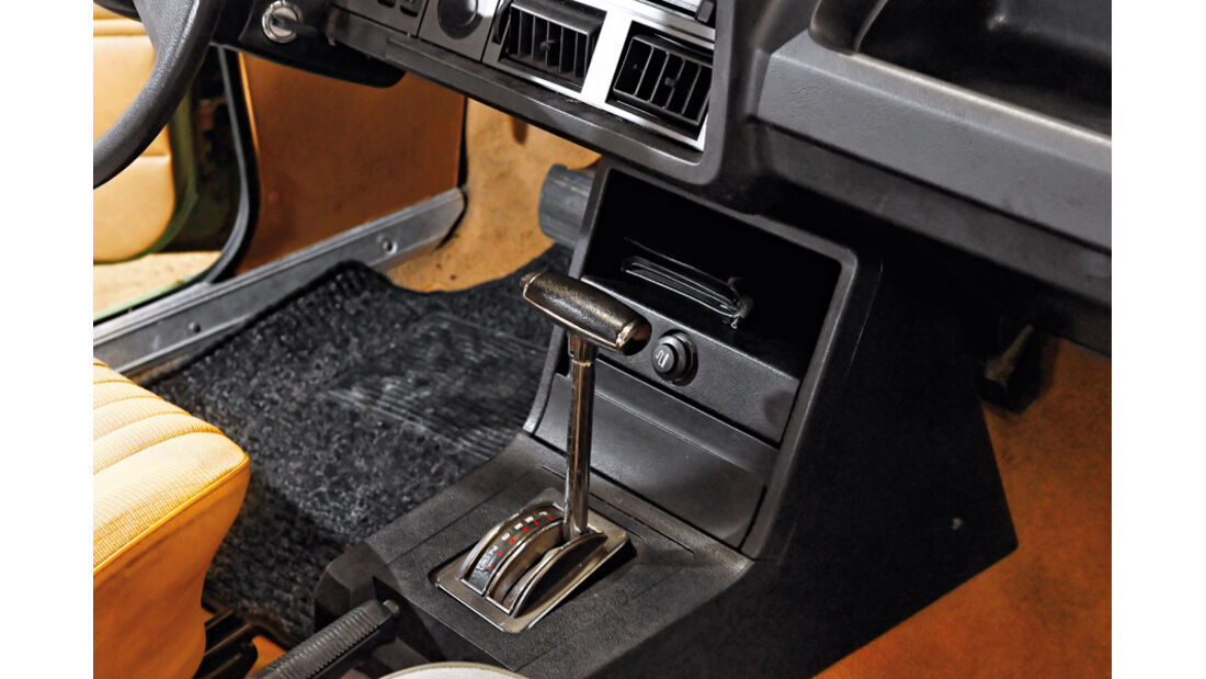Ford Granada 2.3 L, Schalthebel, Schaltknauf