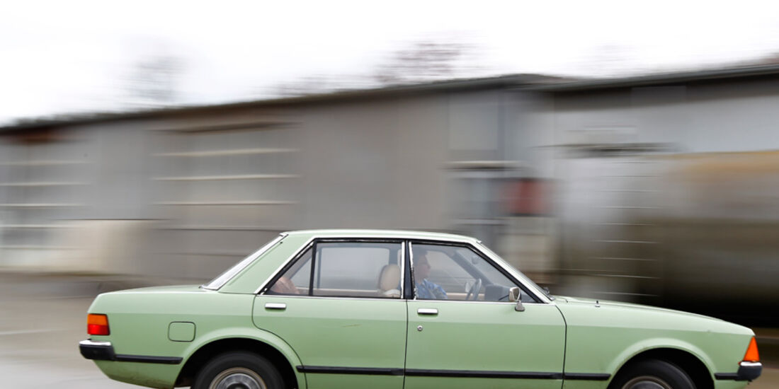 Ford Granada 2.3 L, Seitenansicht