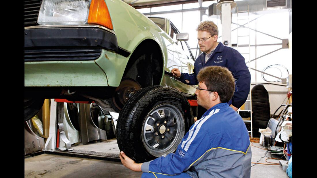 Ford Granada 2.3 L, Vorderrad