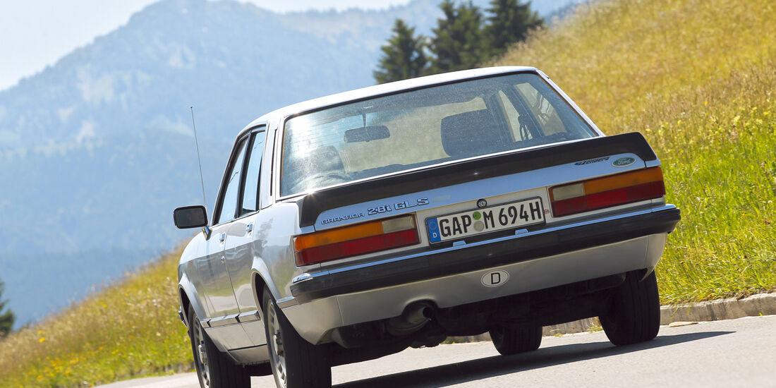 Ford Granada 2.8i GLS, Heckansicht