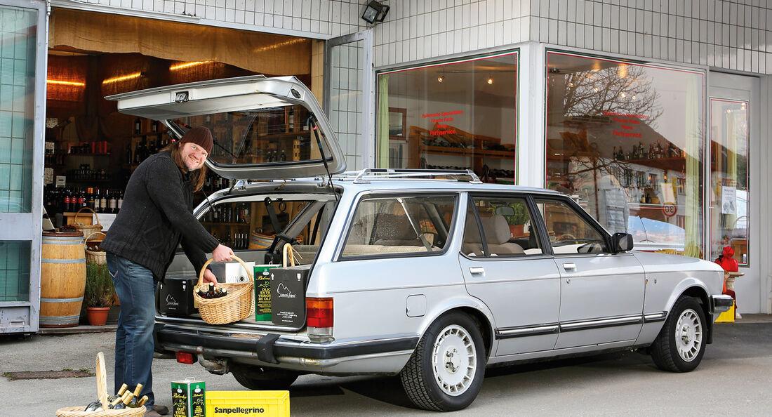 Ford Granada 2.8i Ghia Turnier, Seitenansicht
