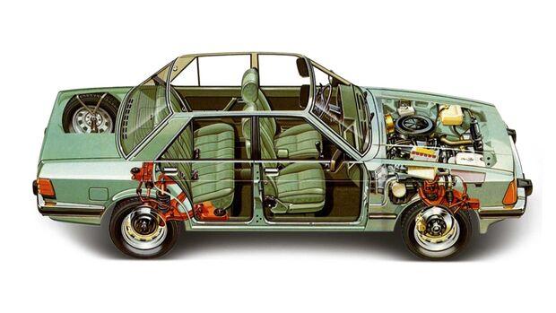 Ford Granada II Durchsicht