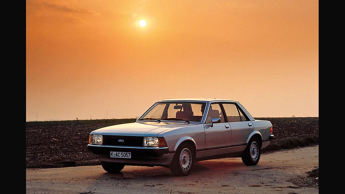 Ford Granada II, Frontansicht