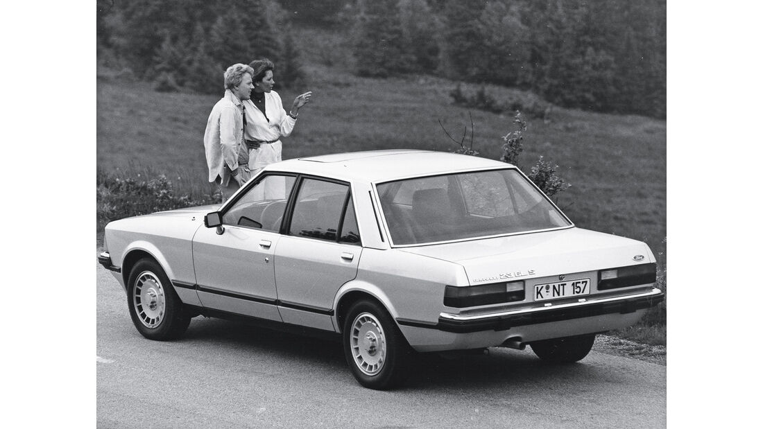 Ford Granada II, Heckansicht