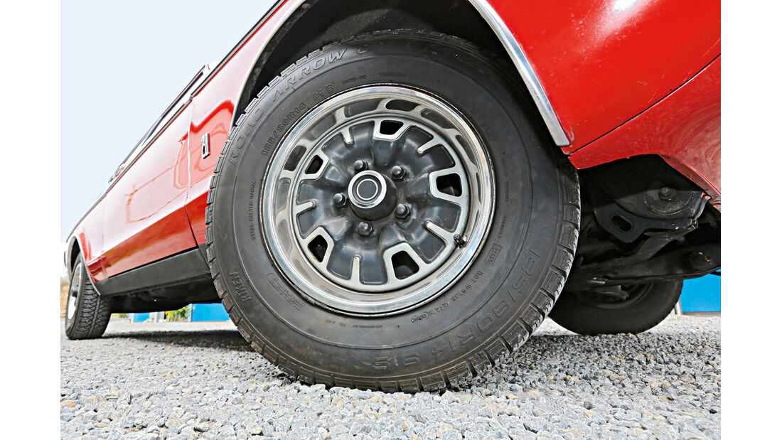 Ford Granada MH, Rad, Felge