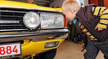 Ford Granada Turnier 2.3 GLS, Scheinwerfer