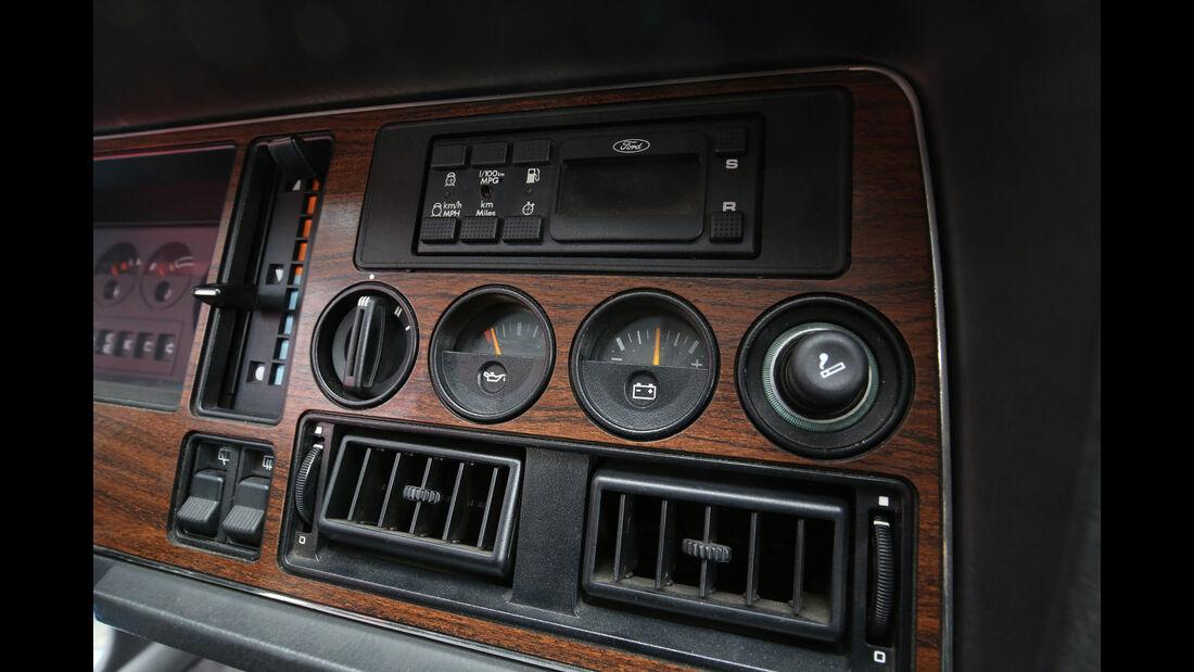 Ford Granada Turnier 2.8 Injection, Bedienelemente
