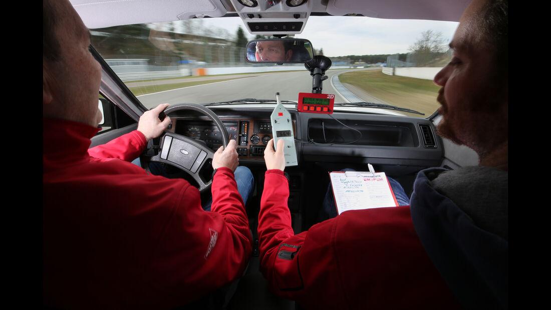 Ford Granada Turnier 2.8 Injection, Cockpit, Fahrersicht
