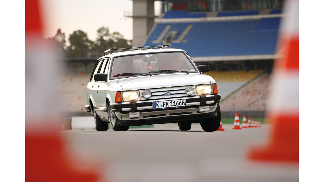 Ford Granada Turnier 2.8 Injection, Frontansicht