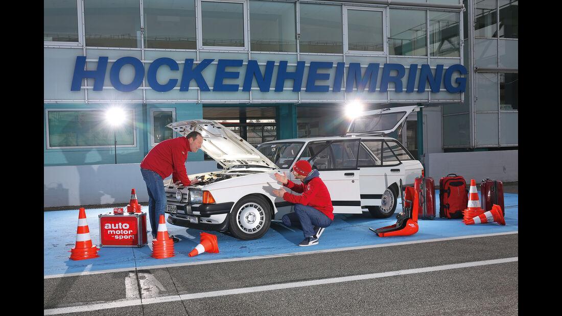 Ford Granada Turnier 2.8 Injection, Seitenansicht