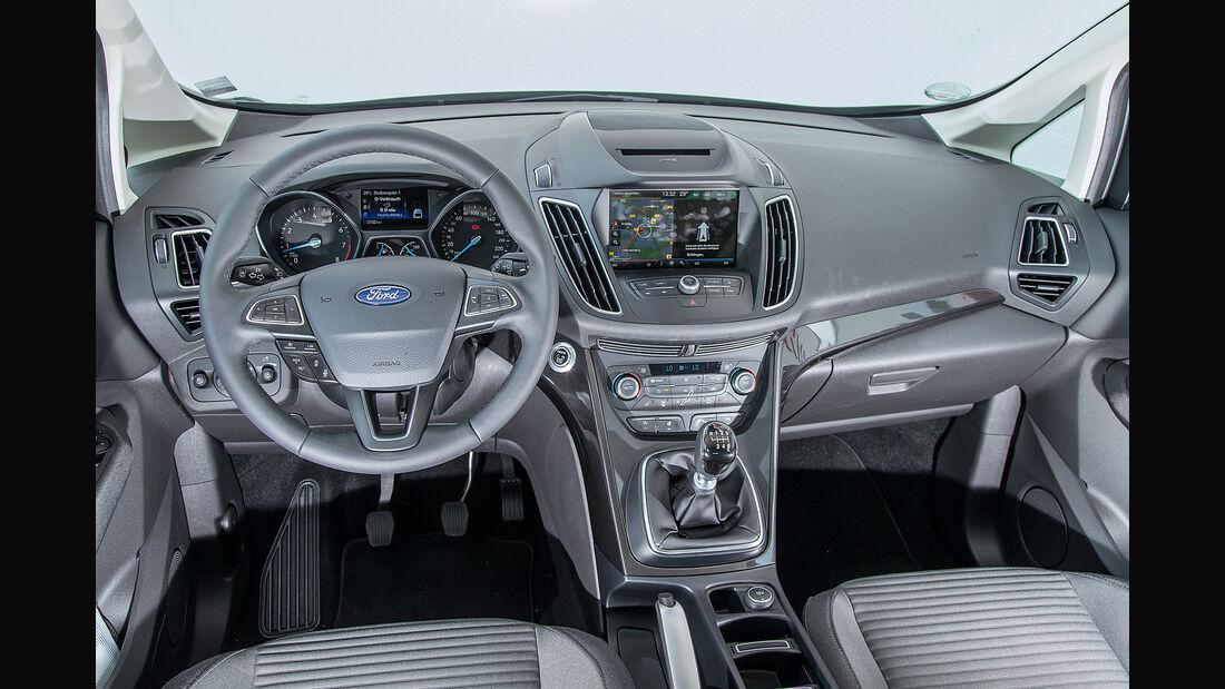 Ford Grand C-Max 1.5 Ecoboost, Cockpit