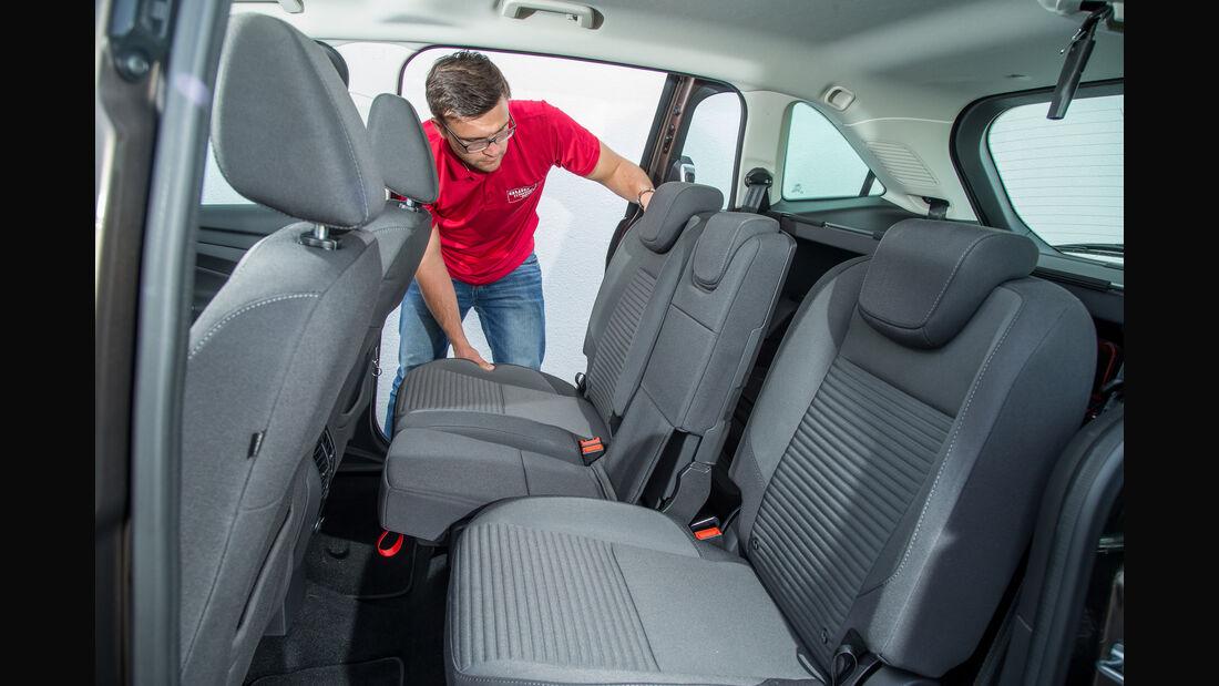Ford Grand C-Max 1.5 Ecoboost, Fondsitze, Umklappen