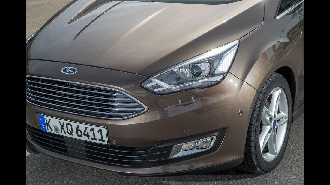 Ford Grand C-Max 1.5 Ecoboost, Frontscheinwerfer, Kühlergrill