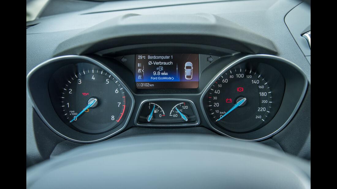 Ford Grand C-Max 1.5 Ecoboost, Rundinstrumente