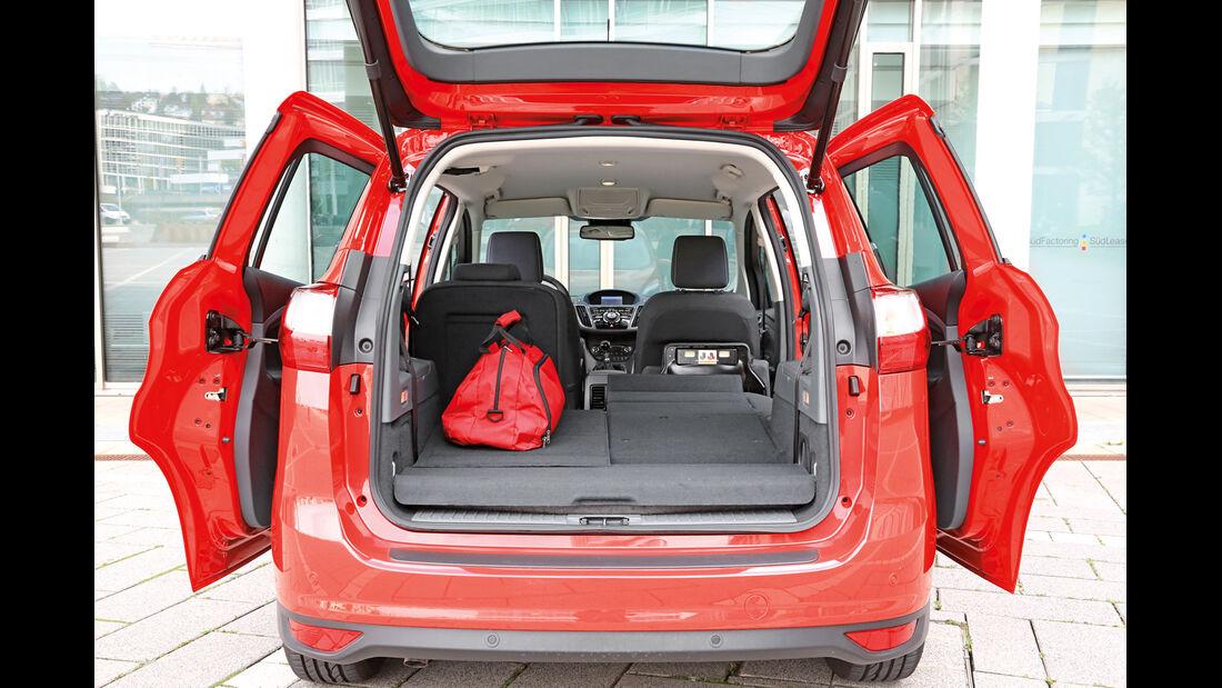 Ford Grand C-Max 1.6 TDCI, Kofferraum