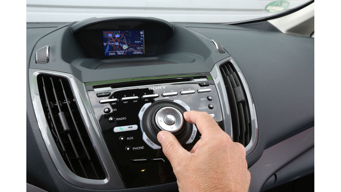 Ford Grand C-Max 2.0 TDCi, Bedienelemente