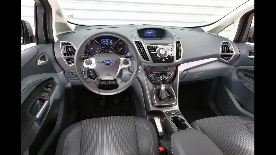 Ford Grand C-Max 2.0 TDCi, Cockpit