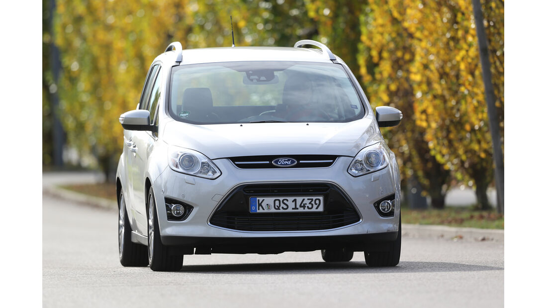 Ford Grand C-Max 2.0 TDCi, Frontansicht