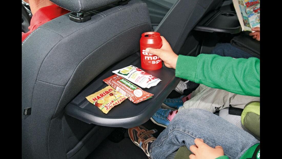 Ford Grand C-Max 2.0 TDCi, Klapptisch