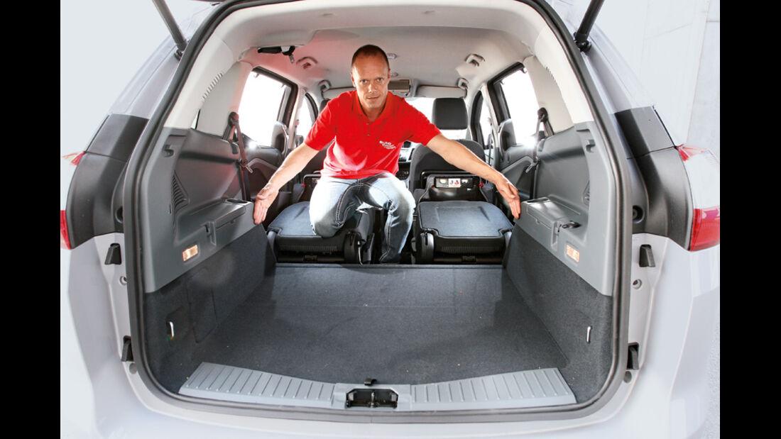 Ford Grand C-Max 2.0 TDCi, Kofferraum
