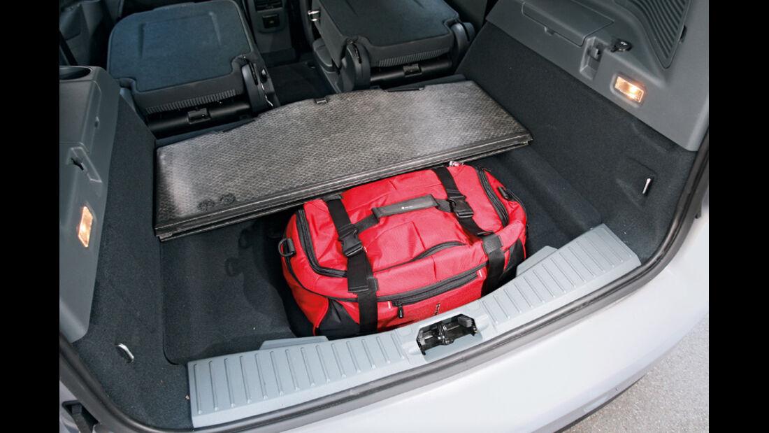 Ford Grand C-Max 2.0 TDCi, Ladeboden, Kofferraum