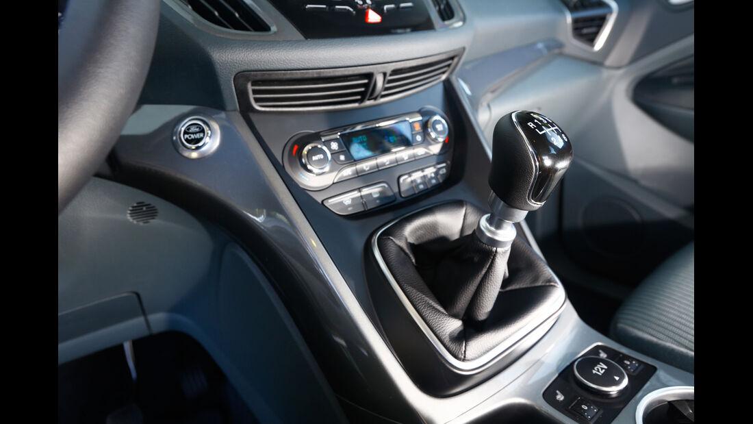 Ford Grand C-Max 2.0 TDCi, Mittelkonsole
