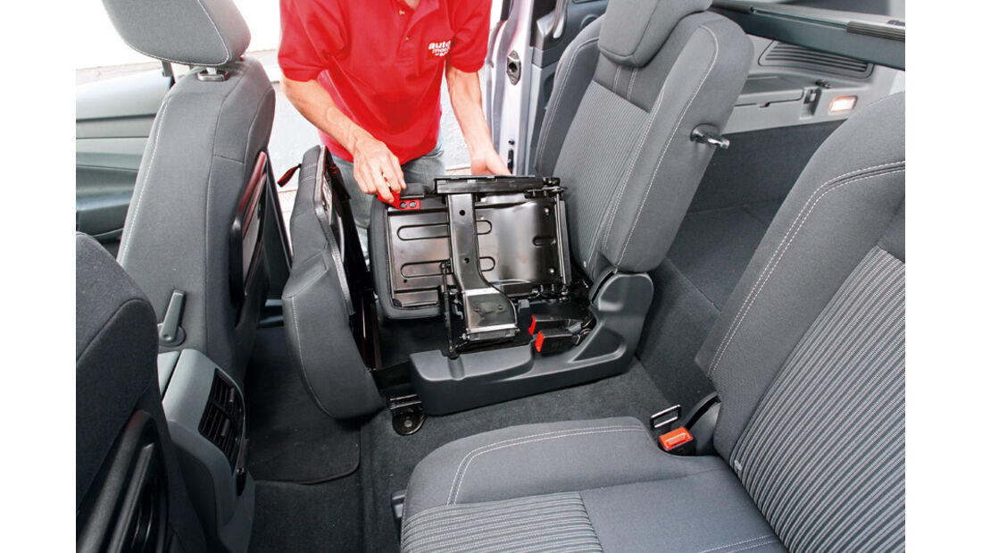 Ford Grand C-Max 2.0 TDCi, Mittelplatz