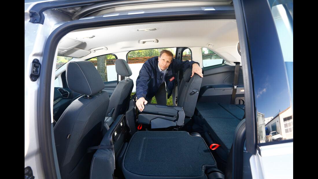 Ford Grand C-Max 2.0 TDCi, Sitze, Fond