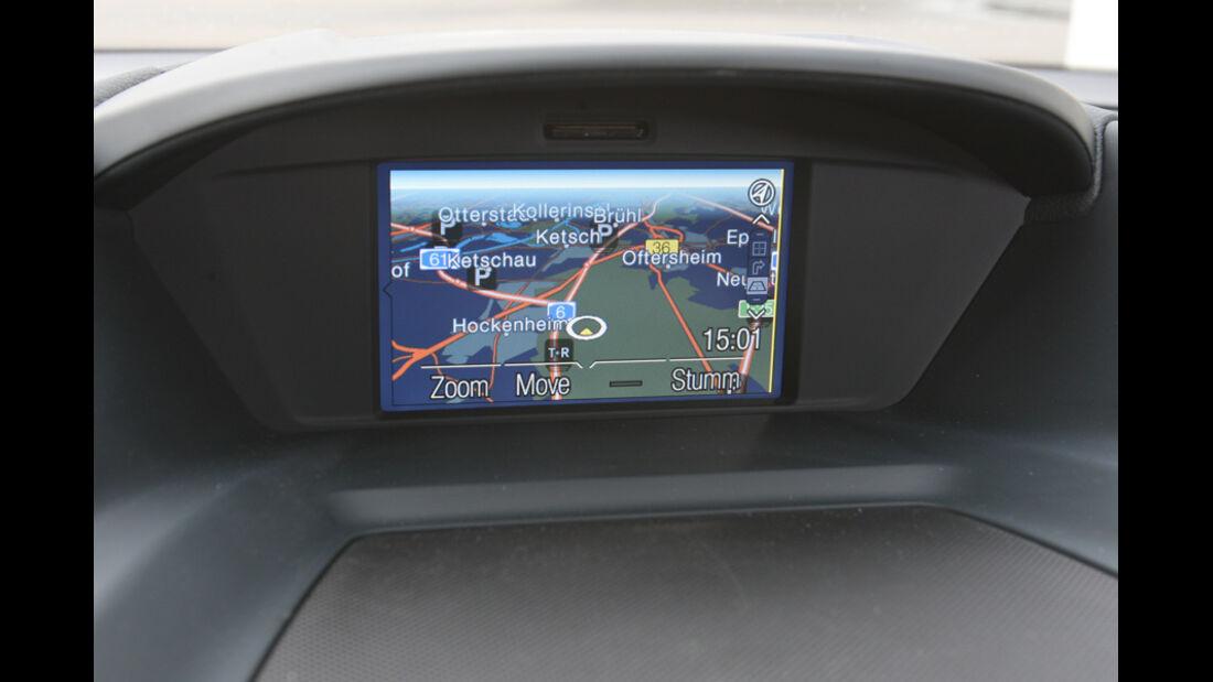 Ford Grand C-Max 2.0 TDCi Titanium, Bildschirm, Navi
